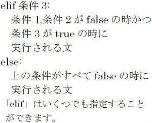 条件分岐ifの公式3